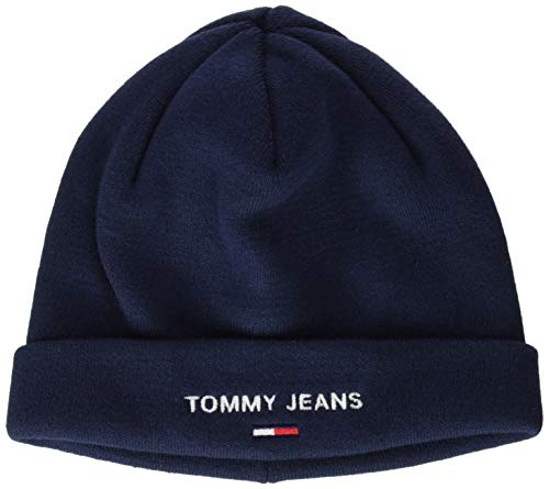 Tommy Jeans Tjw Sport Beanie Cappello, Twilight Navy, OS Donna