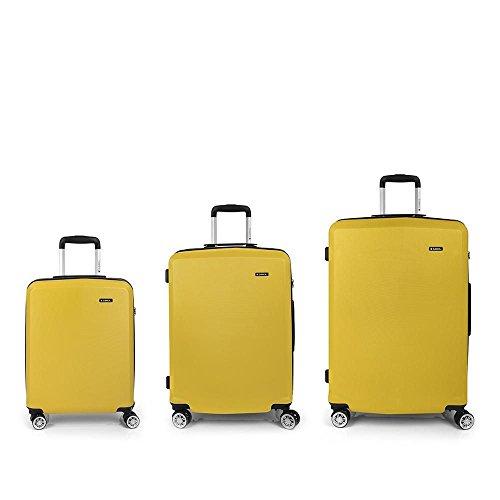 Set 3 Maletas C22-M-L Gabol Mondrian Amarillo