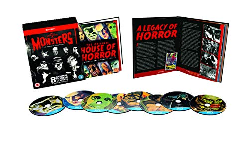 Universal Classic Monsters: The Essential Collection (8 Blu-Ray) [Edizione: Regno Unito] [Reino Unido] [Blu-ray]