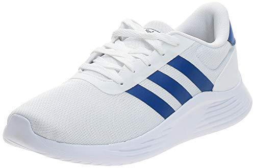 adidas Lite Racer 2.0, Sneaker Hombre, Footwear White/Team Royal Blue/Grey, 39 1/3 EU
