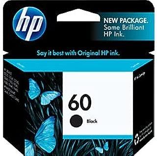 HP 60   Ink Cartridge   Black   CC640WN