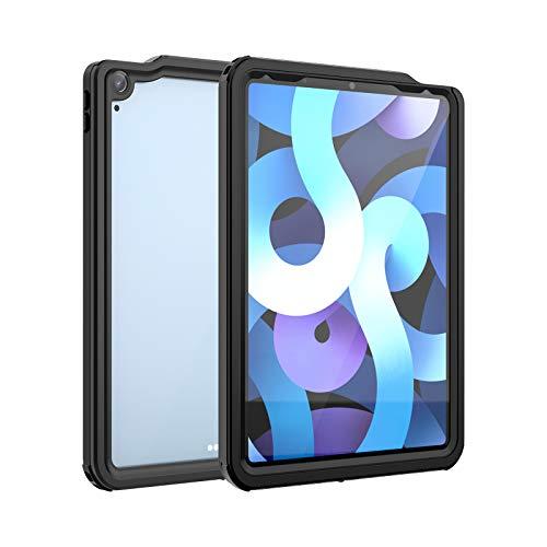Funda para iPad Air 10,9 Pulgadas(4.ª Generación, 2020), Carcasa Sumergible Resistente Al Agua IP68 [Protección de 360 Grados], a Prueba de Nieve, a Prueba de Polvo, a Prueba de Golpes