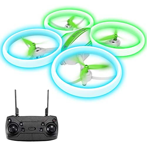 EACHINE E65H Mini Drohne für Kinder Anfänger,Kopflos Modus,3D Flip,Höchenhaltung, Automatische Rückkehr,3 Geschwindigkeiten,RC Quadrocopter (Mit 1 Akku)