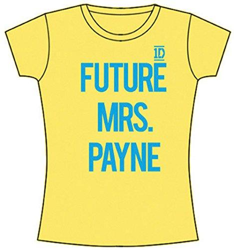 T-Shirt # L Yellow Femmina # Future Mrs Payne [Import]