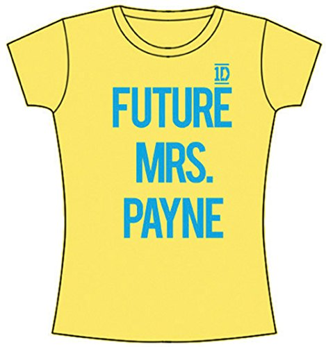 Officially Licensed One Direction t-shirt Ladies Slim fit Future Mrs. Payne Grand