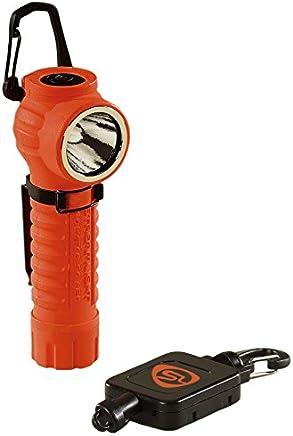 Streamlight 88832 polytac LED Taschenlampe mit Gear Keeper, Orange B005CHXO2C | Berühmter Laden