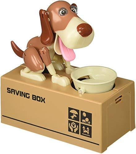 Liberty Imports My Dog Piggy Bank  Robotic Coin Munching Toy Money Box