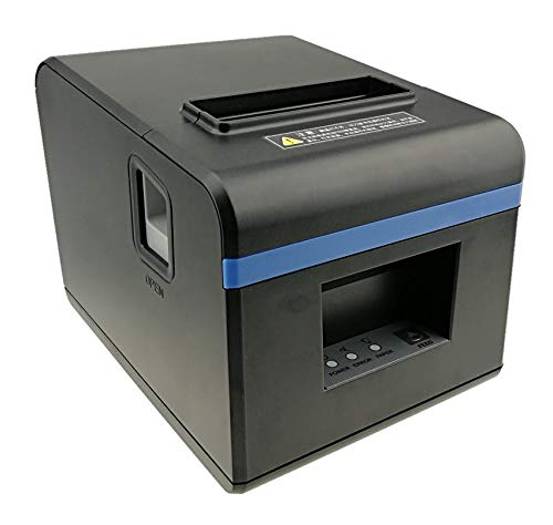 POS Printer with Automatic Cutter Function - USB, EU Plug
