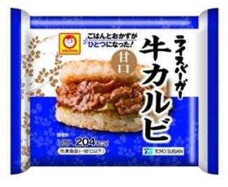 【冷凍】東洋水産 マルちゃん ライスバーガー 牛カルビ (120g)X12袋