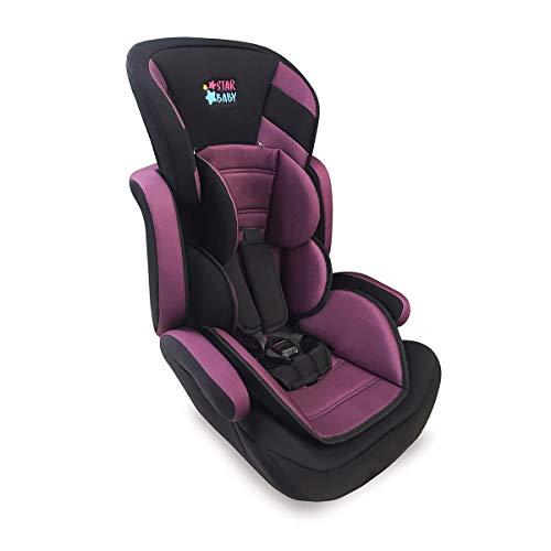 Cadeira Automovel Carro Bebe Tx 9 A 36kg Star Baby Roxo