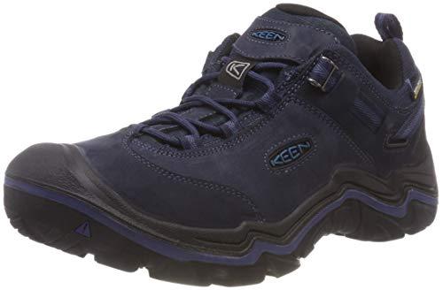 KEEN Wanderer WP, Chaussures de Randonnée Basses Homme, Bleu (Dark Sea/Night Dark Sea/Night), 42 EU
