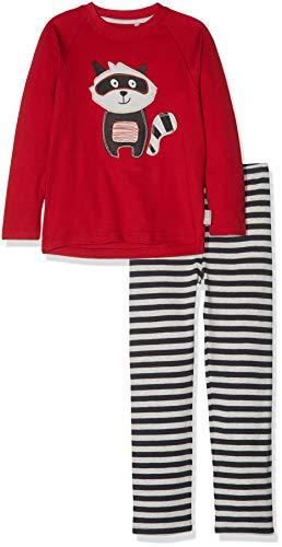 Sigikid Jungen Pyjama, Mini Zweiteiliger Schlafanzug, Mehrfarbig (Mehrfarbig (Chili Pepper 112) 112), 110
