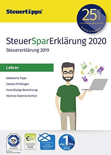SteuerSparErklärung für Lehrer 2020, Schritt-für-Schritt Steuersoftware für die Steuererklärung 2019, Aktivierungscode per Mail für Windows 10, 8