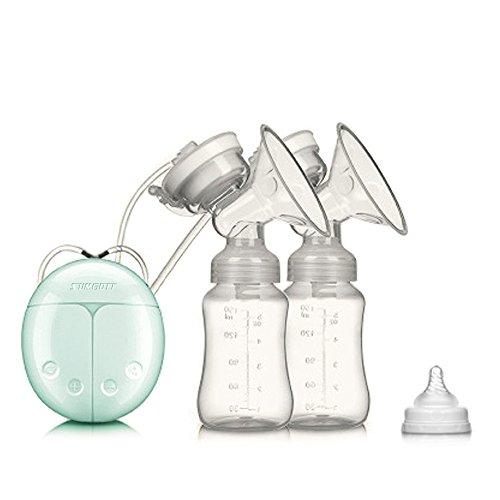 Tiralatte Elettrico - SUMGOTT USB BPA-libero Qualità del cibo Raddoppiare Pompa di latte Massaggi La prolattina