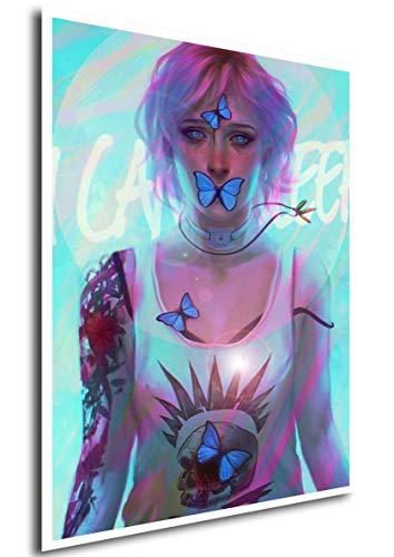 Instabuy Poster Life is Strange (C) - Chloe - A3 (42x30 cm)