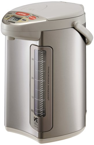 Zojirushi CV-DSC40 VE Hybrid Water Boiler and Warmer, Stainless Steel