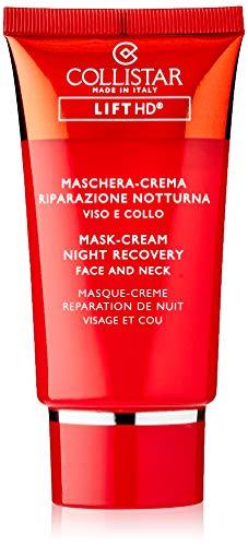 Collistar Lift HD Maschera-Crema Riparazione Notturna Viso e Collo, Maschera rimpolpante e anti-rughe, Tecnologia brevettata con estratto di microalga, Per tutti i tipi di pelle, 75 ml