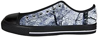 Custom Winter Snow Womens Classic High Top Canvas Shoes Fashion Sneaker