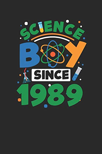 Science Boy Since 1989: Dotted Bullet Notebook – Scientist , Student And Teacher Gift Idea