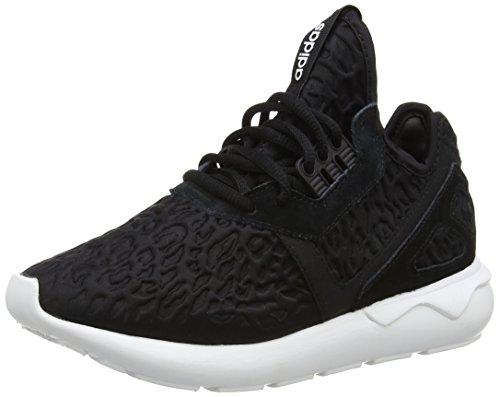 adidas Originals Damen Tubular Runner Sneaker, Schwarz (Core Black/Core Black/FTWR White), 40 2/3 EU