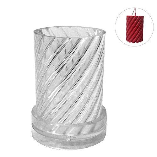 Euopat DIY siliconen vorm, Aroma kaars vorm, kaars maken ambacht benodigdheden siliconen vorm 3D kaars maken schimmel voor het maken van kaars zeep voor kerst decoratie