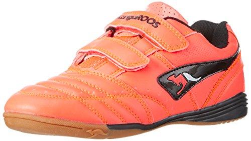 KangaROOS Power Court, Unisex-Kinder Hallenschuhe, Orange (Neon Salmon 678), 39 EU