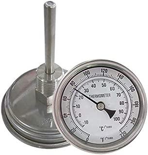 NOFDA Homebrew Kettle Beer Brewing Thermometer Homebrew Beer Bi-Metal Thermometer 3