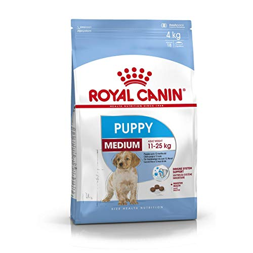 Royal Canin Medium Puppy - Comida para perritos, 15 kg