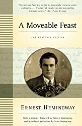 Cover of the revised edition of Ernest Hemingway's A Moveable Feast.
