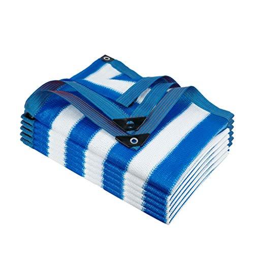 Paño protector solar Shade Cifrada Sombreado Neto, Protector Solar Aislamiento Térmico Perforado Malla de Sombra Al Aire Libre Anti-UV de Enfriamiento Del Acoplamiento para Piscina Patio Malla Parasol