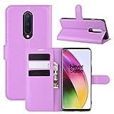 HualuBro Cover OnePlus 8, Flip Cover a Libro in PU Pelle Antiurto Portafoglio Leather Case Custodia...