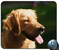 かわいいラブラドール子犬マウスマットパッド-犬犬ゴールデンレトリーバーPCコンピューター