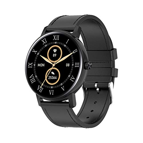 L01 Dial Bluetooth Call Smart Watch Men Touch Full Touch Monitor De Ritmo Cardíaco Multipe Deportes Smartwatch PK KW10 KW19 DT88 DT89,G