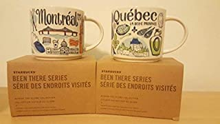 Montreal & Quebec City Mugs (2 MUGS SET)