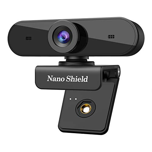 1080P USB Webcam with Stereo Microphones, Trobing Streaming Full HD Web Camera Wide Scope Video Calling Recording Gaming, Skype Web Cam for Mac OS X Win 10 8 7 Vista XP