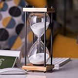 PLMM Reloj de Arena,Temporizador de Cocina,Reloj de Arena Infantil,Temporizador de Arena (1/3/5/10/30 Minutos),Reloj de Arena Artesanía para Aula/Juego/Oficina/Hogar/Decoracion
