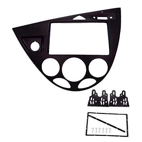 CT-CARID 2 Din Adaptador de fascia de facia de radio estéreo para automóvil...