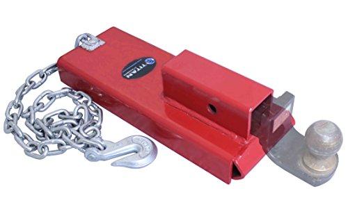 Titan Forklift Hitch Receiver Pallet Forks Trailer Towing Adapter for 2