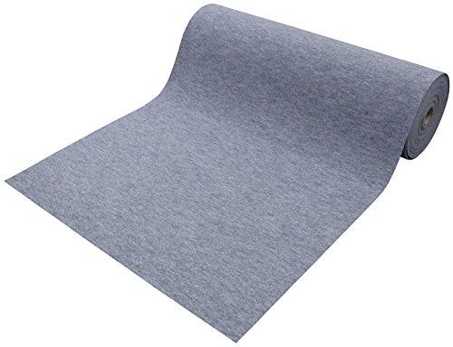 ワタナベ工業 防炎 パンチカーペット エコパンチ グレー 91cm巾×20m巻 EP-505S-20