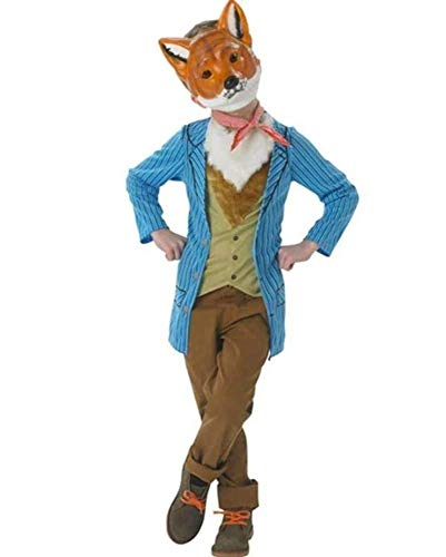Rubie's 880340M Official Fox Costume Book Day Animal Fancy Dress, Medium (Age 5-6 Years)
