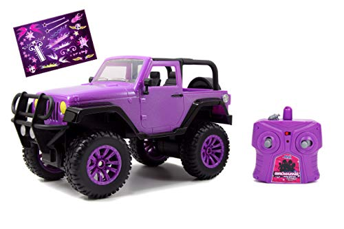 Jada Toys GIRLMAZING Big Foot Jeep R/C Vehicle (1:16 Scale), Purple