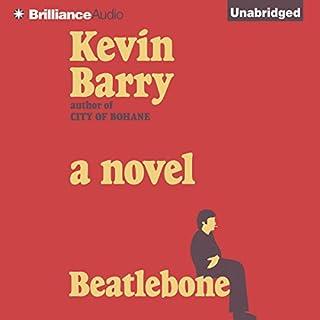 Beatlebone audiobook cover art