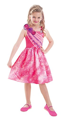amscan 997547 - Kostüm Barbie Secret Door Extra, 8 - 10 Jahre