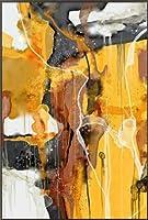 抽象的なカラーデザイン絵画金属プラーク、壁アート装飾ポスターリビングルーム家の寝室の装飾絵画