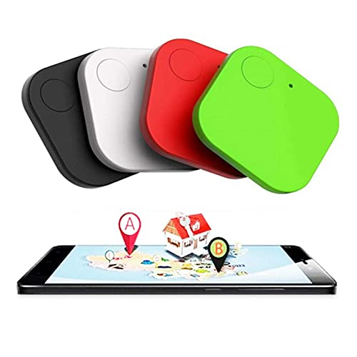 Key Finder,4 Pack Bluetooth Tracker Smart, GPS Tracking Locator, Anti-Lost Tracker Device APP Control Compatible iOS Android for Keys, Pets, Phone, Wallet, Luggages Kid and More