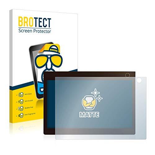 BROTECT 2X Entspiegelungs-Schutzfolie kompatibel mit Lenovo Yoga Book C930 (Bedienfeld) Displayschutz-Folie Matt, Anti-Reflex, Anti-Fingerprint