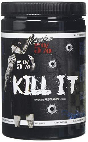 5% Nutrition - Rich Piana Kill It (30 Serv) Blue Raspberry, 1 Units