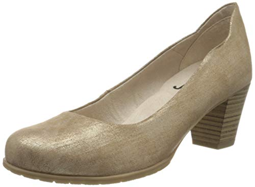 Jana Softline Damen 8-8-22467-24 Pumps, Gold (Bronze Metall 953), 40 EU