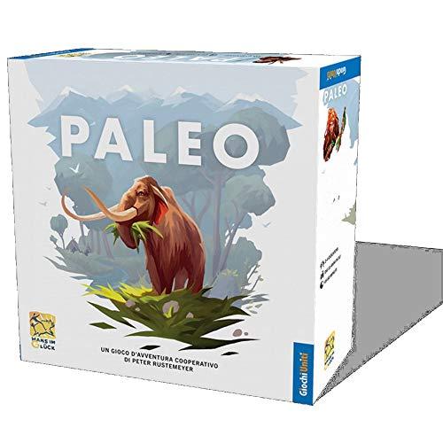 Giochi Uniti- Paleo Gioco da Tavolo, Edizione Italiana, GU678