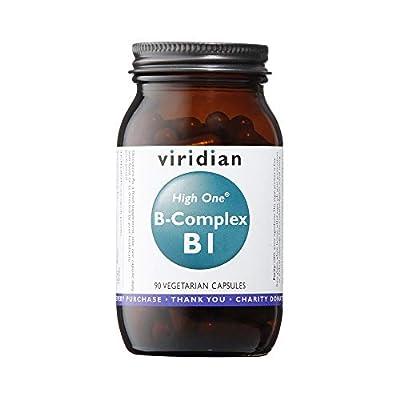 Viridian HIGH ONE Vitamin B1 with B-Complex, 90 Veg Caps by Viridian Nutrition